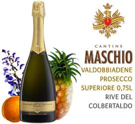 VALDOBBIADENE PROSECCO SUPERIORE 0,75L (RIVE DEL COLBERTALDO)