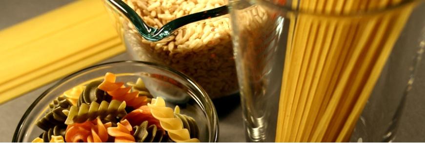 Cestoviny, ryža, múka