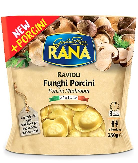 Ravioli Funghi Porcini 250g