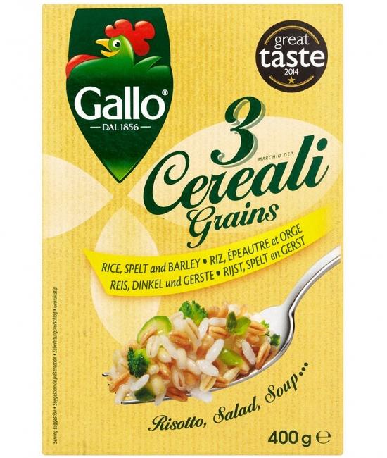3 Grains - zmes 3 cereálií 400g