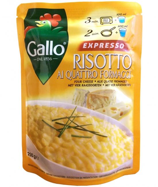 Risotto ai 4 formaggi EXPRESSO 250g