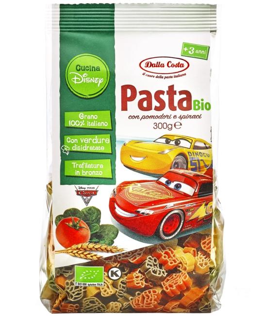 Cars - Pasta tricolori BIO 300g
