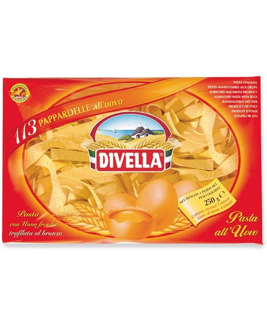 Pappardelle all'uovo 250g DIVELLA