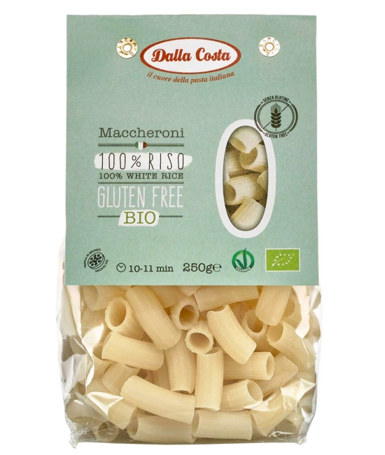 Bezlepkové Maccheroni di Riso 250g