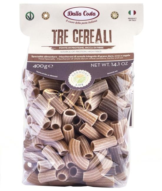 Maccheroni Tre cereali 400g