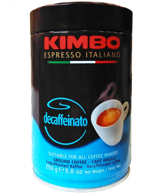KIMBO Káva bez kofeínu 250g