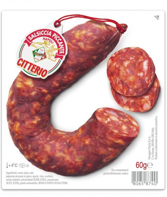 Salsiccia Piccante Napoli 60g - MINI