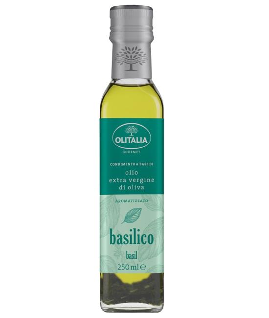 Olio di oliva Extra vergine al Basilico 250ml