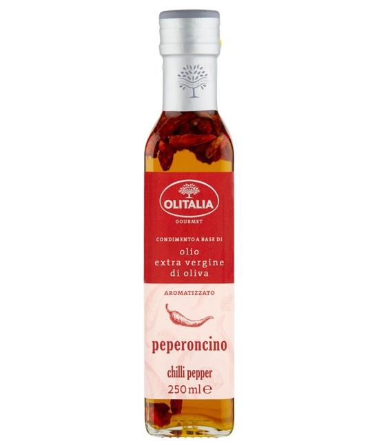 Olio di oliva extra vergine al Peperoncino 250ml