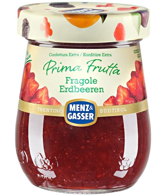 PRIMA FRUTTA jahodový džem 340g