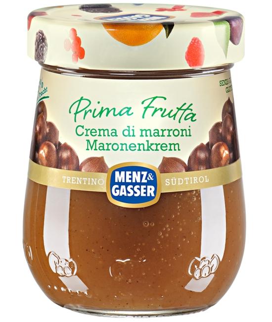 PRIMA FRUTTA gaštanovo vanilkový krém 340g