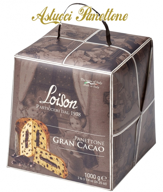 ASTUCCI Panettone 1kg GRAN CACAO