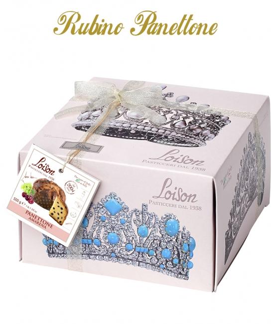 RUBINO Panettone 500g ALL'AMARENA
