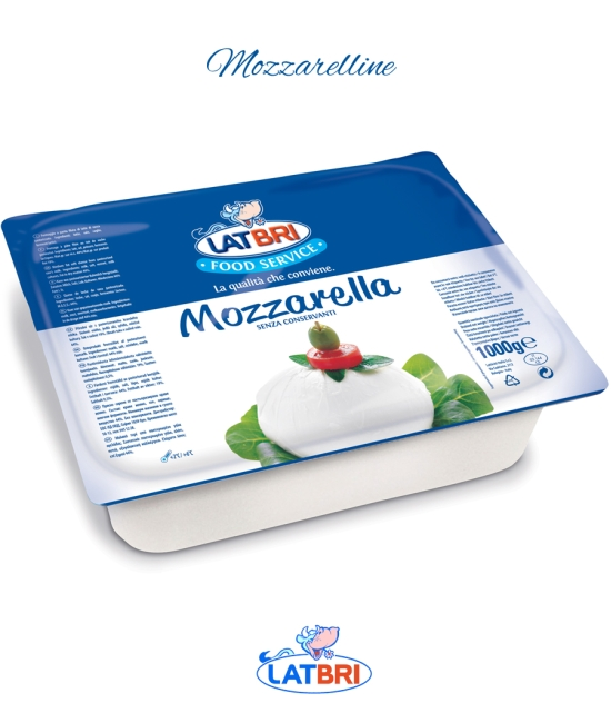 Mozzarelline 8,5 g/1 kg