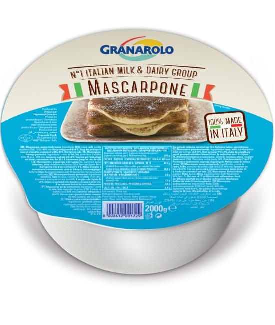 Mascarpone 2kg GRANAROLO