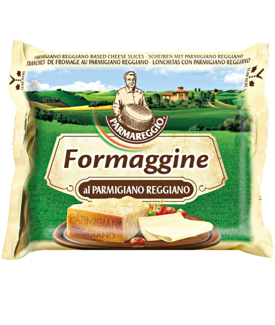 Parmareggio - plátky taveného syra 150g