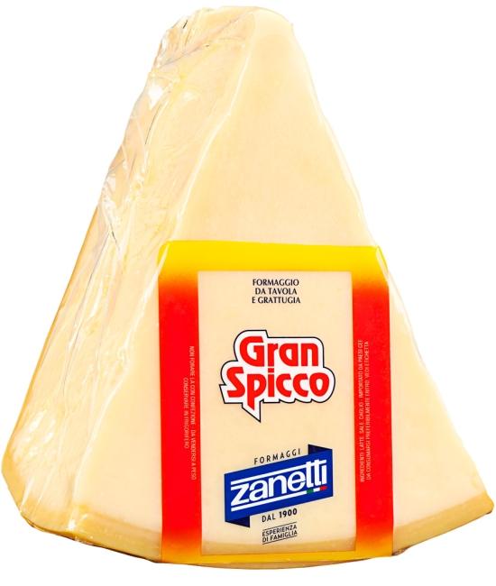 Formaggio Duro - Zanetti Grana 1/16 (cca 2,2kg)