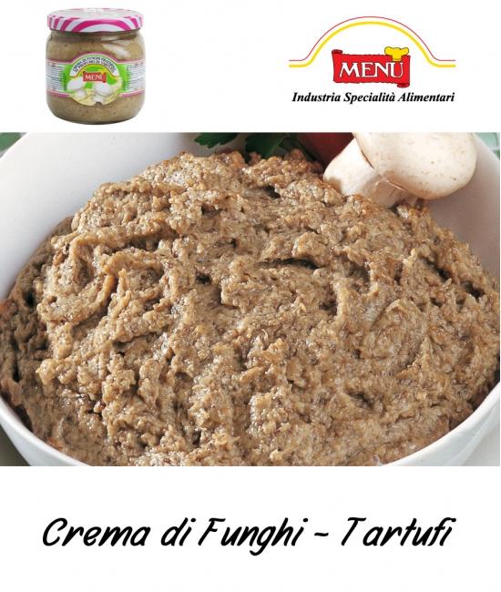 Crema di Funghi / Tartufi 760g - hľuzovkový krém