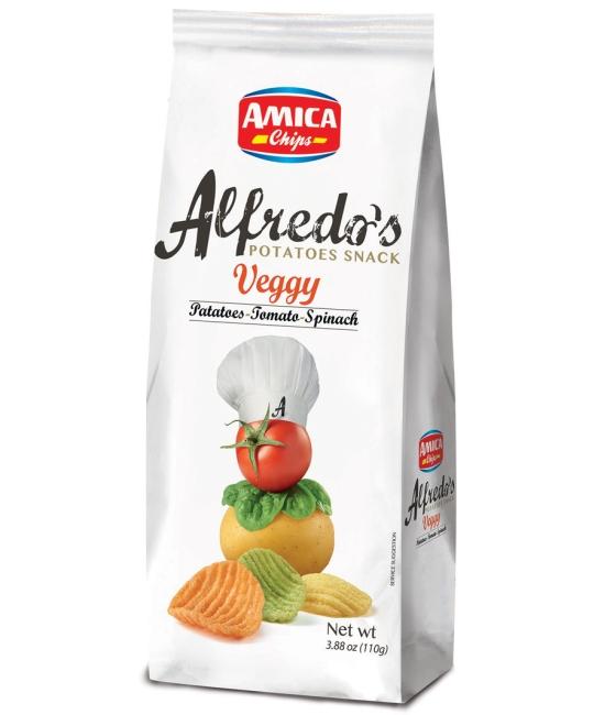 Alfredo´s Veggy chips 110g