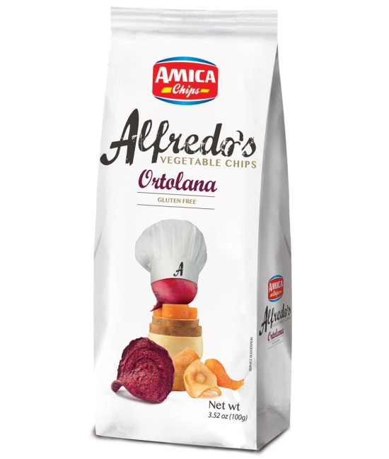 Alfredo´s Vegetable chips 100g