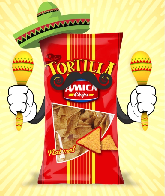 Tortilla chips Natural 200g