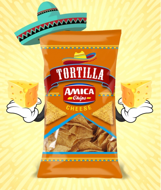 Tortilla chips Cheese 200g