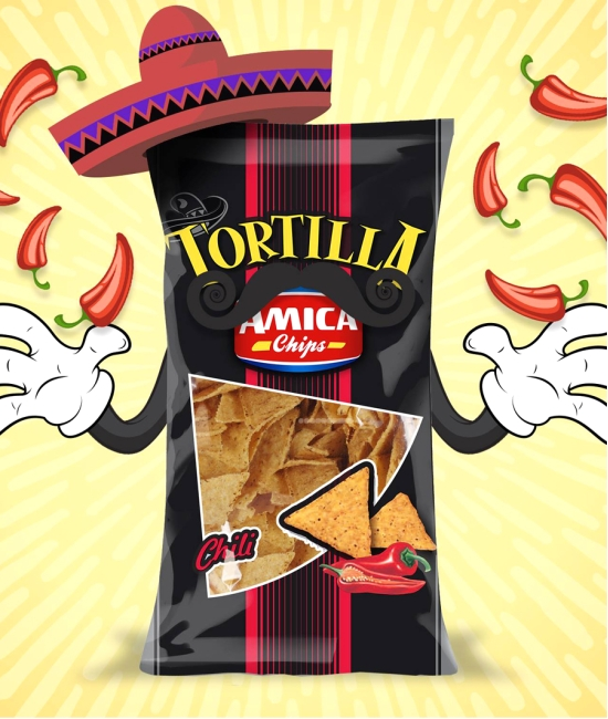 Tortilla chips Chili 200g