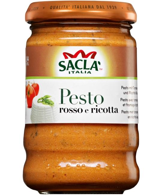 Pesto al Pomodoro e Ricotta 190g