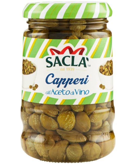 Capperi all´aceto 200g