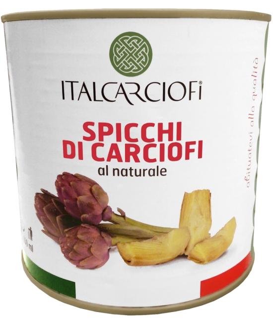 Carciofi Spicchi naturale 2650g - artičoky štvrtené