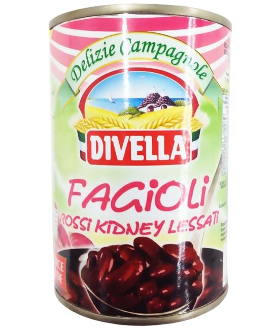 Fagioli Red Kidney Lessati 400g DIVELLA