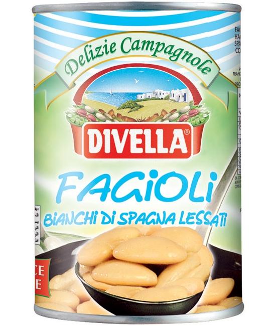 Fagioli Bianchi di Spagna Lessati 400g DIVELLA
