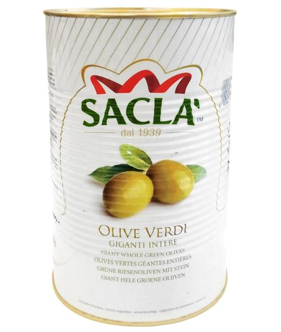 Olive verdi giganti 4,1kg - olivy zelené giganty