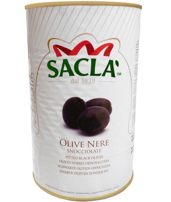 Olive nere denocciolate 3,9kg - olivy čierne bez kôstky SACLA