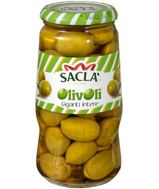 Olive verdi giganti 560g