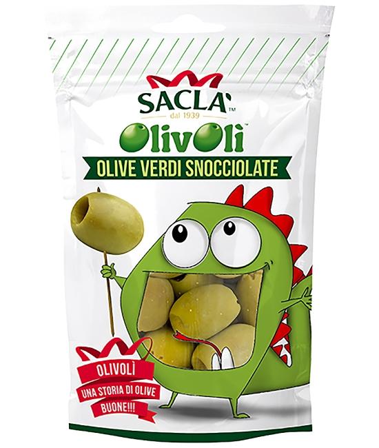 Olivy zelené bez kôstky 185g