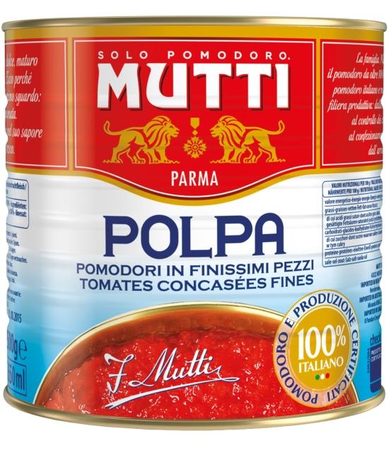 Polpa di Pomodoro 2,5 kg - drvené paradajky