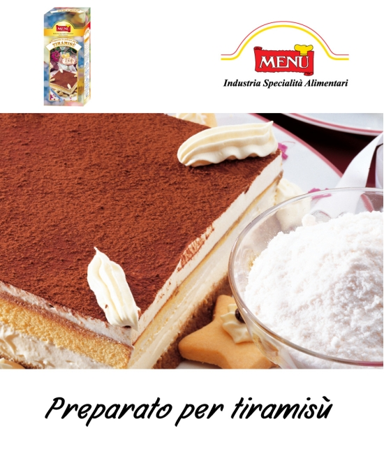Tiramisù - preparát 1kg