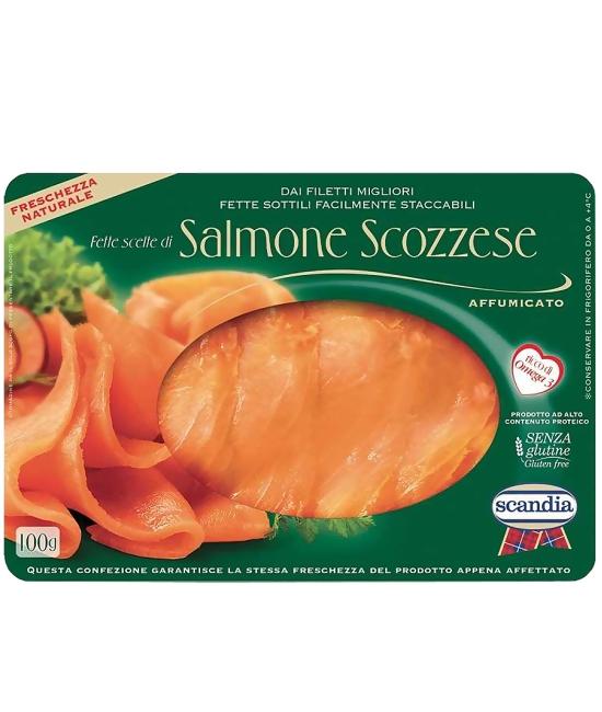 Salmone Scotia Affumicato 100g