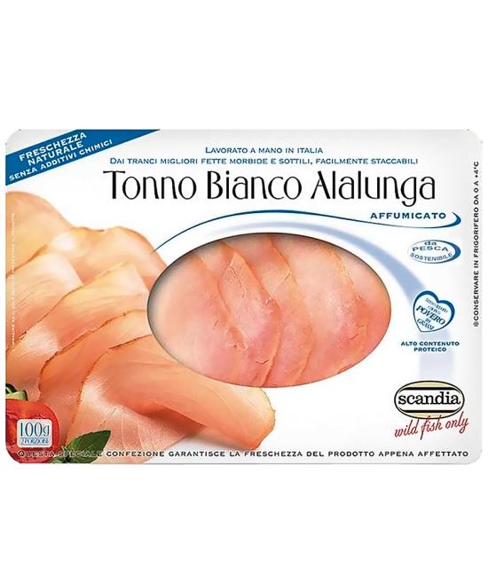 Tonno Bianco alalunga affumicato 100g