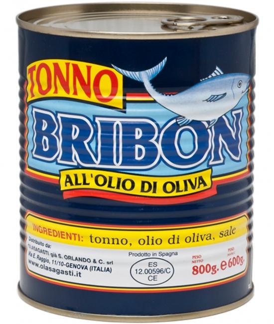 Tuniak v olivovom oleji 800g