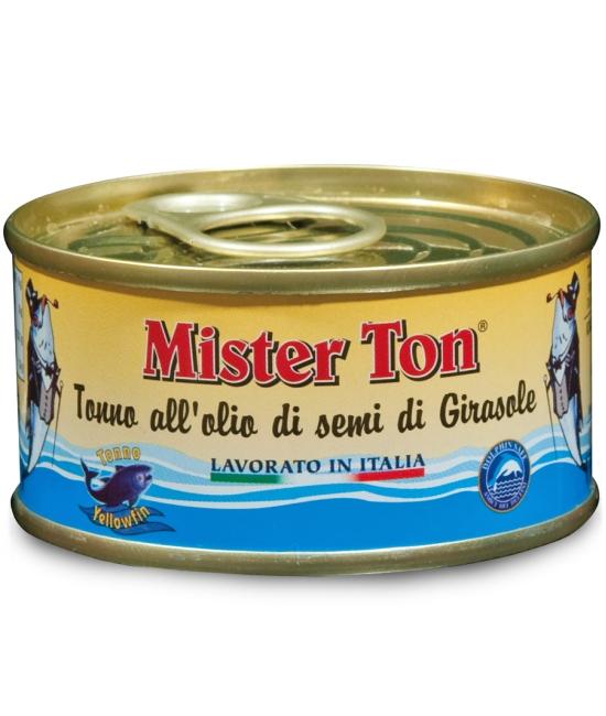 Tuniak v slnečnicovom oleji 80g